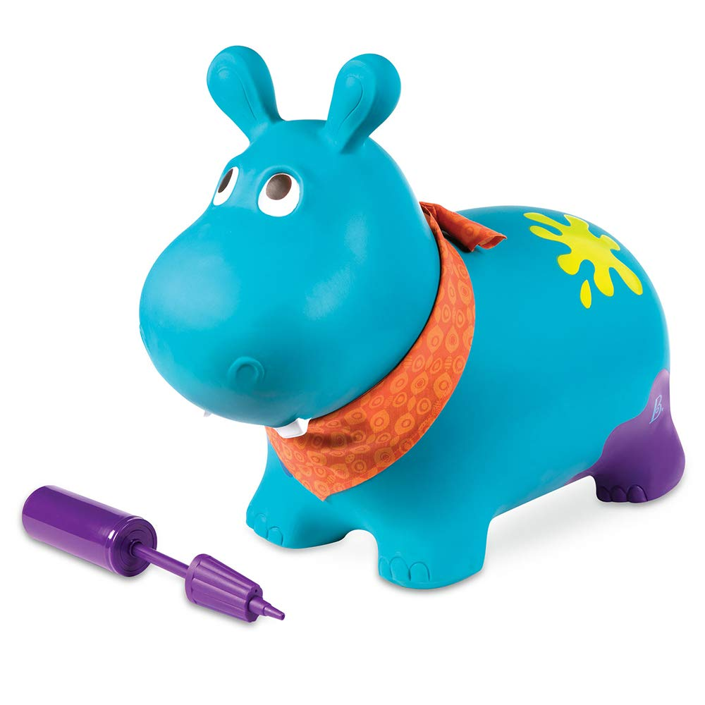 B. Toys 44627 - Bouncer Hippo, Sonstiges Kleinkindspielzeug Battat BX1505Z