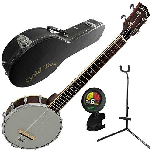Gold Tone BUB Baritone Banjo Uke Banjolele w/Case, Tuner, and Stand by Gold Tone