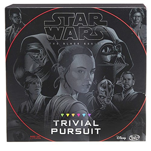(Hasbro Trivial Pursuit: Star Wars the Black Series Edition - Test Your Knowledge with Over 1,800 Easy To Extremely Difficult Questions for Ultimate Fans - 2-4 Players - Instructions Included)