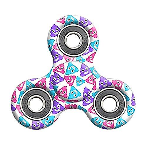 Price comparison product image Tiean Emoji Poo Fidget Spinner Cheap Finger EDC Focus Toy (B)