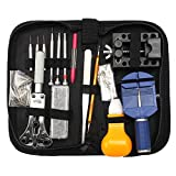Baban 144Pcs Professional Watch Repair Kit Tools Spring Bar Watch Opener Link Remove