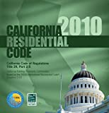 California Residential Code 2010, International Code Council Staff, 1580019757