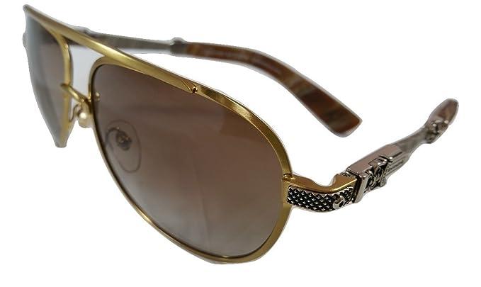 CHROME HEARTS Blade Hummer II gafas de sol en oro y marco de ...