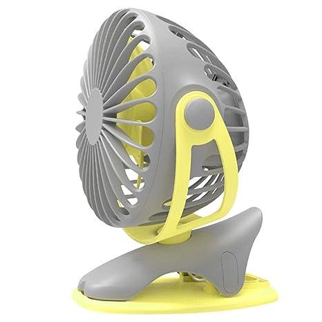 Amazon.com: Desktop Fan - Usb Rechargeable/Clipable Fan For ...