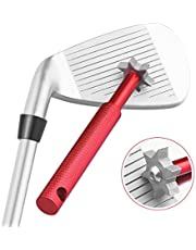 Herramienta Histar afiladora y limpiadora de surcos del palo de golf con 6cabezales, productos especializados de golf