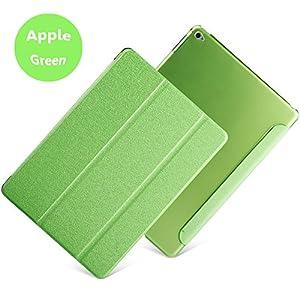 iPad Mini Case,iPad Mini 3/2/1 Case Folio ,Smart Cover transparent back (Fresh Green) by FIRIK