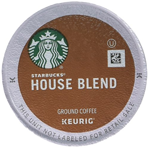 Starbucks House Blend Route Roast Single Cup Coffee for Keurig Brewers, 6 boxes of 10 (60 total K-Cup pods)