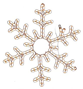 Amazon american lighting led ww hsm snowfb24 snowflake american lighting led ww hsm snowfb24 snowflake holiday rope light motif 24 mozeypictures Images