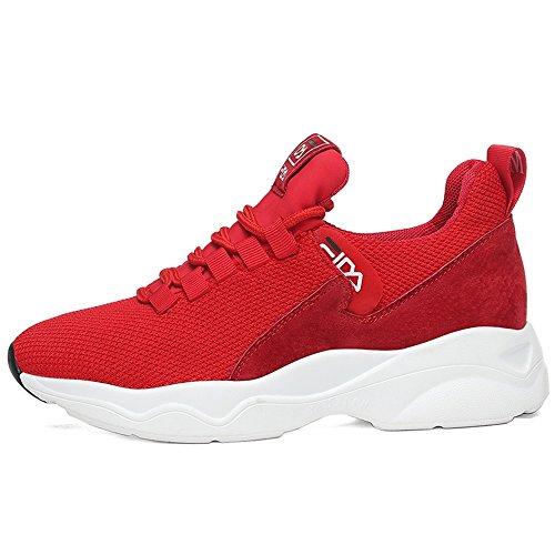 Rosso Corsa Versione Da 55 Coreana Xiaolin No Scarpe Sportive Shoes Donna Invernali xwRfwPpTq