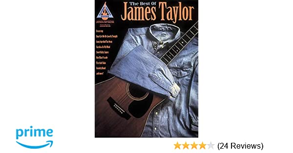 Amazon The Best Of James Taylor 9780793514205 James Taylor