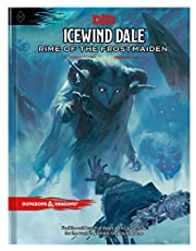 Dungeons and Dragons Icewind Dale: Rime of the Frostmaiden Roleplaying Game