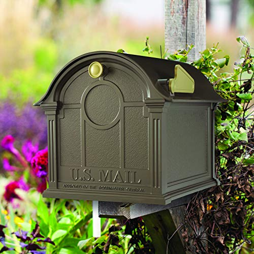 Whitehall Products Balmoral Mailbox, Bronze by Whitehall (Image #2)