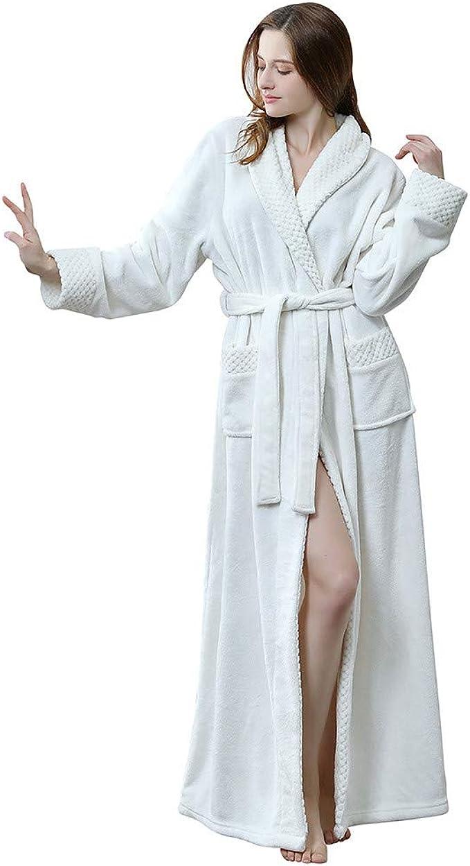 Donna Vestaglia Accappatoio Con Cerniera Nightwear pigiameria
