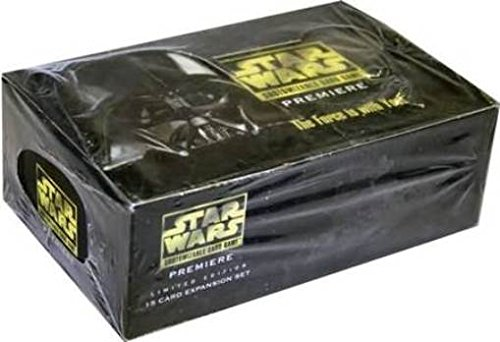 Premiere Booster Box - Star Wars CCG Premiere Limited Booster Box Factory sealed with 36 mint factory sealed packs