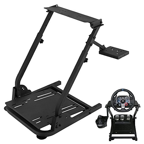 VEVOR G29 G920 Racing Steering Wheel Stand Logitech G25 G27 G29 G920 Racing Wheel Pro Stand Wheel Pedals Not Included Gaming Racing Simulator Wheel Stand (Stand, G29) from VEVOR