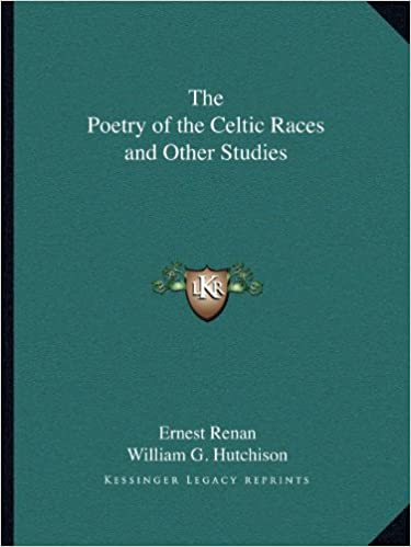 Book The Poetry of the Celtic Races and Other Studies