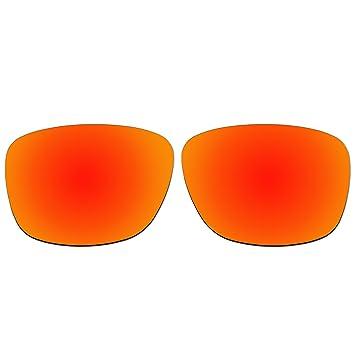 Acompatible remplacement de lentilles pour lunettes de soleil hQQCVAdGqg Forehand Oo9179, Fire Red Mirror - Polarized