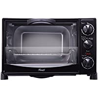 Rosewill RHTO-13001 0.8 Cu Ft 6-Slice Black Countertop Toaster Oven Broiler with Drip Pan