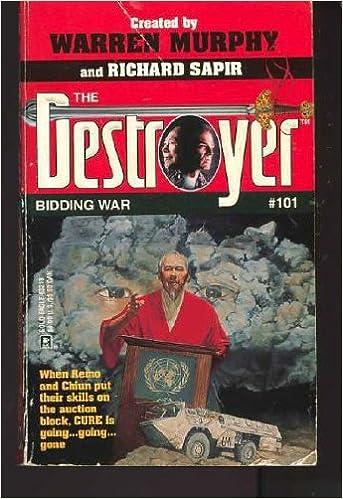 Book Bidding War (The Destroyer, No. 101)