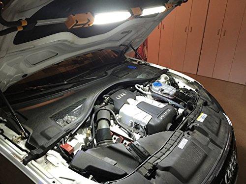 TruePower 120 LED Underhood Rechargeable Work (120 Led Automotive Under Hood)