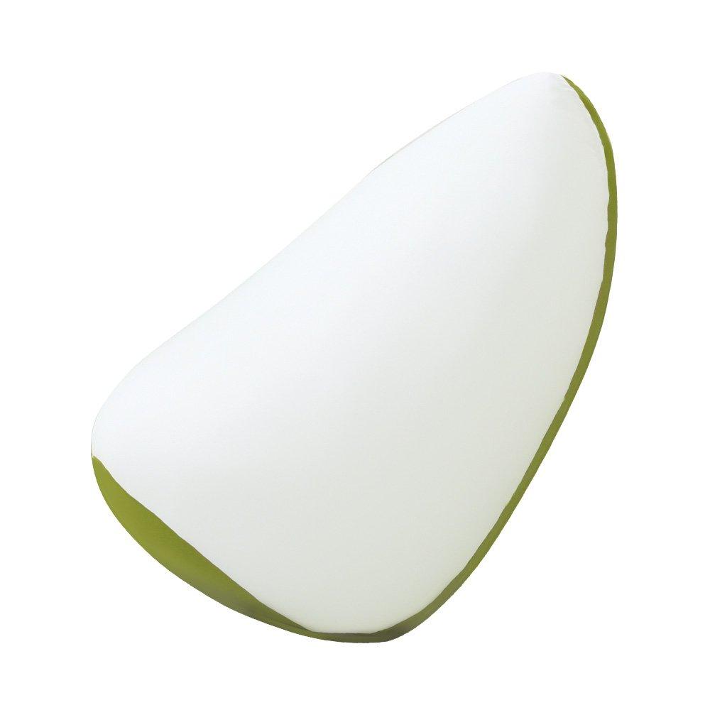 ジャンボビーズクッション【Ovo-オーヴォ-】(伸縮 しっかり生地 日本製)グリーン B01M06FY52 グリーン グリーン