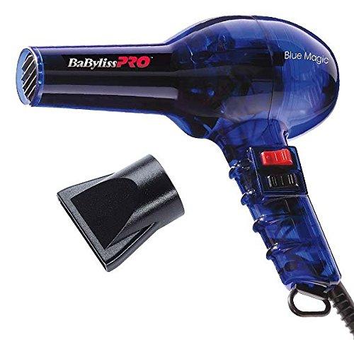 BaByliss PRO - Haartrockner Blue Magic | Neues Modell (ohne Kaltlufttaste)