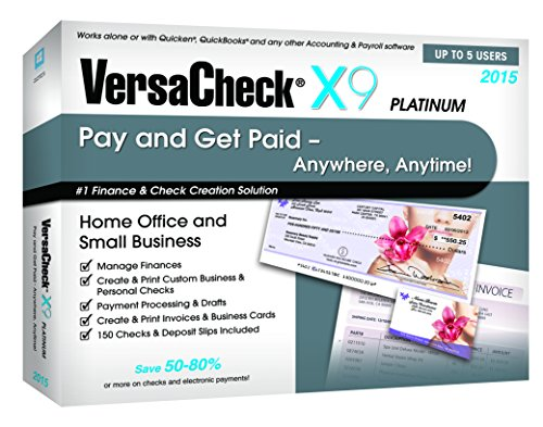 VersaCheck X9 Platinum 2015 - 5-User