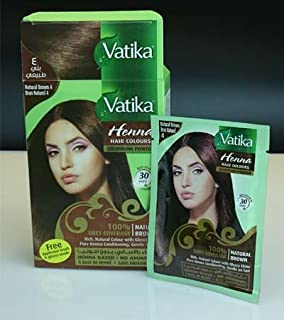 Buy Vatika Henna Hair Colour Rich Black 60g Online At Low Prices In