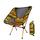 Ultralight Travel Folding Chair High Hardness Outdoor Load Portable Camping Chair Beach Hiking Picnic Seat Fishing Tool Chair (Color : C)