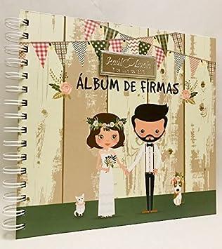 Libros de firmas para boda GRABADOS personalizados álbum de firmas GRABADO PERSONALIZADO libro original