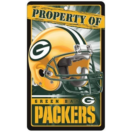 Nfl Green Bay Packers Property Sign Brand New