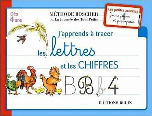 Livres gratuits en ligne J'apprends à tracer les lettres et les chiffres pdf, epub