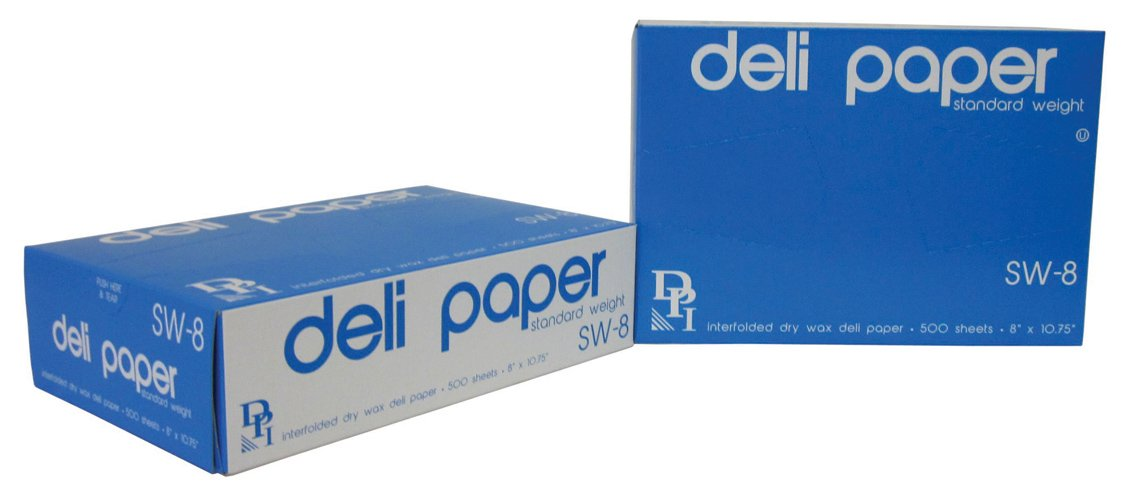 Durable Packaging Standard Weight Deli Sheets, 8'' x 10-3/4'' (Pack of 6000)