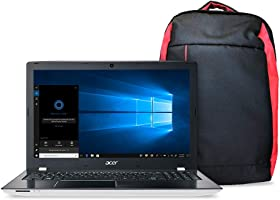 Kit Notebook Aspire E + Mochila Nitro, Aspire E5-553G-T4TJ, AMD A10 Quad Core 9600P, 4GB RAM, HD 1TB, AMD Radeon R7 M440...