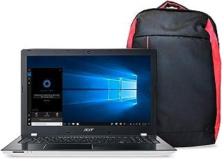"Kit Notebook Aspire E + Mochila Nitro, Aspire E5-553G-T4TJ, AMD A10 Quad Core 9600P, 4GB RAM, HD 1TB, AMD Radeon R7 M440 com 2 GB GDDR3, tela 15.6"", Windows 10 - Branco"
