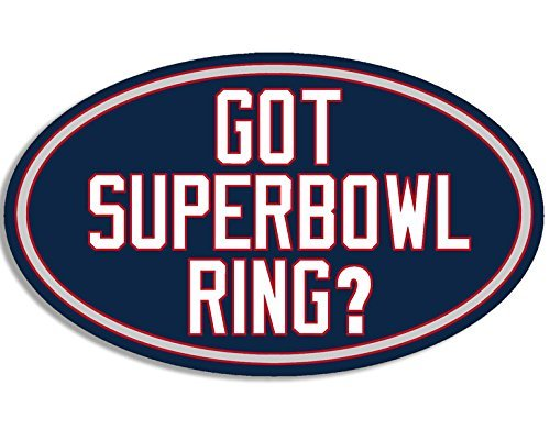 New England Patriots 4x6 Rug (MAGNET OVAL Got Superbowl Ring Patriots ColorsMagnetic Sticker (new england decal))
