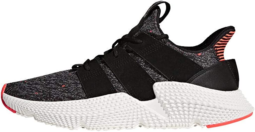 Empotrar Permitirse viuda  Amazon.com | adidas Originals Men's Prophere Running Shoe, Core Black /  Solar Red, 10 | Fashion Sneakers