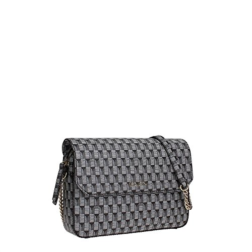 Guess Shoulder Bag jsetp6305Sac bandoulière pour femme Black Multi