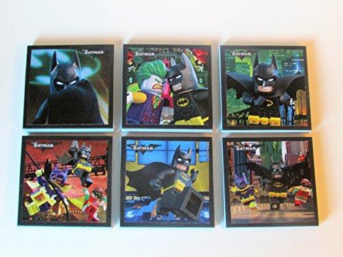 Lego Batman Note Pads Set of 6 - Excellent Party Favors - Lego Batman Birthday Party Favors