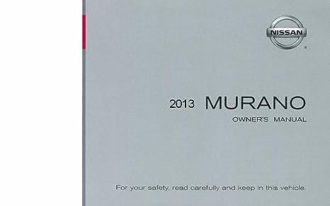 amazon com bishko automotive literature 2013 nissan murano owners rh amazon com 2012 murano service manual 2013 nissan murano service manual