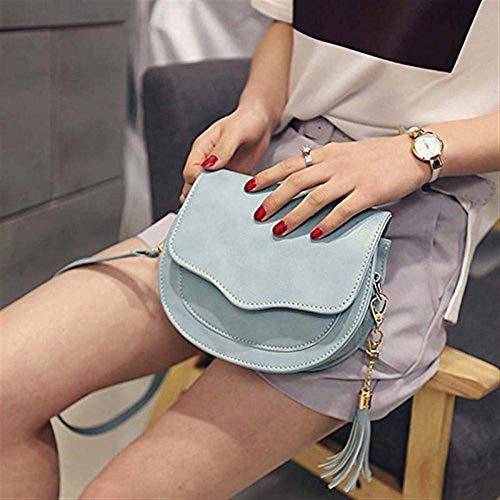 coloré Taille Femmes PU Pochettes Gland à Mignon en Simple Beige Mini Sac Messenger avec Bandoulière Petit Mode Cuir Bag Gris aw0qUqd