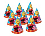 American Greetings Sesame Street Party Hats (8 Piece)