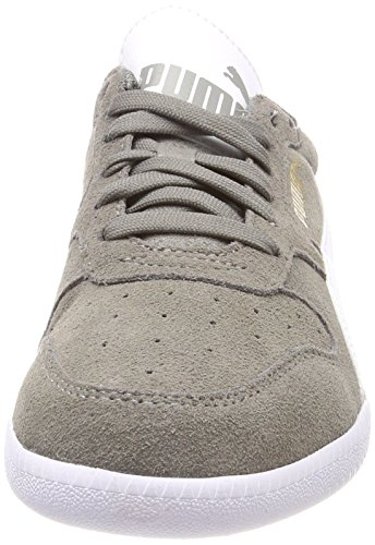 Puma Unisex Sneaker Icra Trainer SD Low-Top Grau (Steel Gray-Puma White)