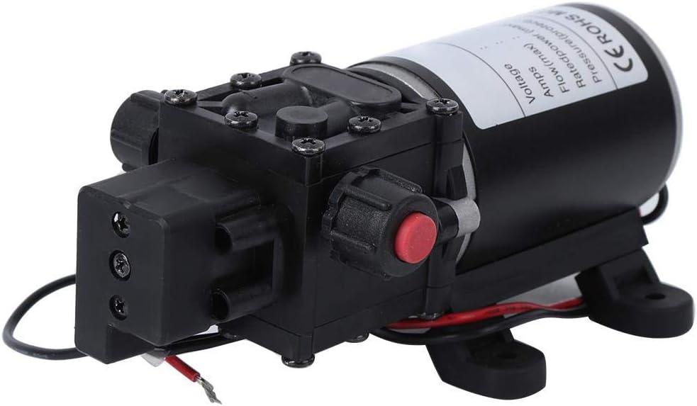 12V Motor Intelligent Diaphragm Pump,DC12V 120W 7L//min 10mm Right Water Outlet Diaphragm Pumps