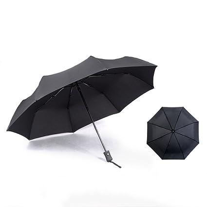Paraguas Automatico Doble Pliegues Grandes Sombrillas De Setenta Por Ciento De Sombrillas Rompevientos Hombres Y Mujeres
