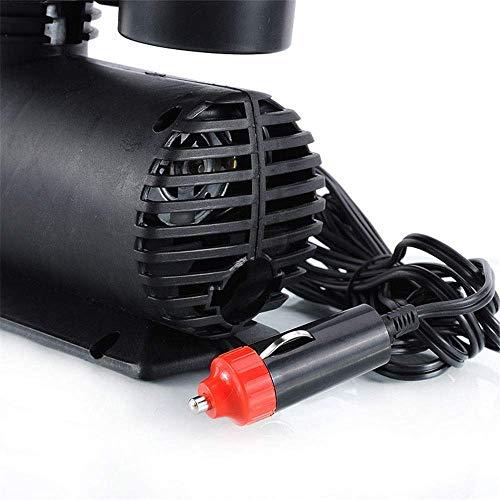 51pvwltjZJL Rexez Air Compressor for Car and Bike 12V 300 PSI Tyre Inflator Air Pump for Motorbike,Cars,Bicycle,for Football,Cycle Pumps for Bicycle,car air Pump for tubeless By Rexez