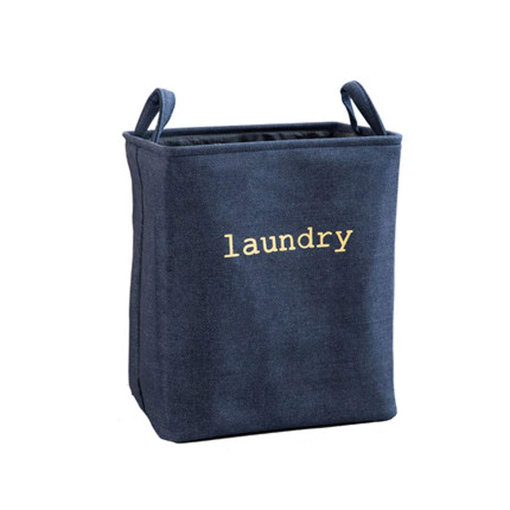 Laundry Basket | Basket Large | Collapsible (Color : Navy) by Laundry Basket (Image #1)