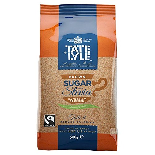 Tate & Lyle Brown Sugar with Stevia - 500g (1.1lbs)