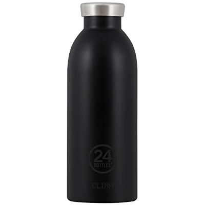 24bottles Clima Bottle Tuxedo Black Bouteille isotherme Gourde 500ml Noir