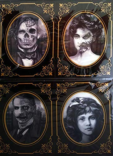 Haunted Photo Frames 4pk Lenticular Effect ()
